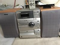 Sony CD/Cassette/Radio system