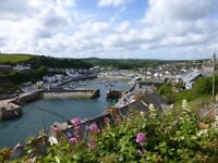 A rare opportunity to rent a two bedroom Porthleven flat with super sea views.