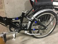 20 inch folding bike***looks like new