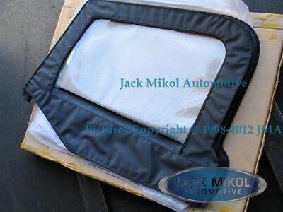 - Driver Side Upper Skin Half Door Front Replacement Window 97-06 Jeep Wrangler