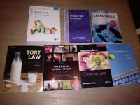 LLB law Year 1 Book Bundle NEW and in EXCELLENT condition
