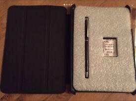 Ipad mini case and stylus/gel pen
