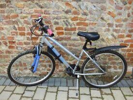 Apollo XC26 female mountain bike 17 inch frame