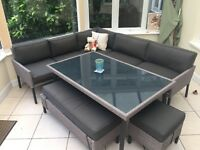 Large Conservatory Dining Set