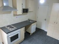 Studio rooms to let - self contained, kitchenette, on suite shower room, most bills included