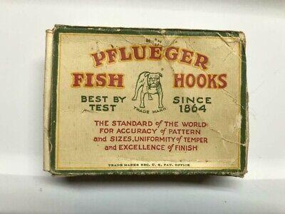 Vintage Pflueger Limerick Fish Hooks NOS Japanned #4