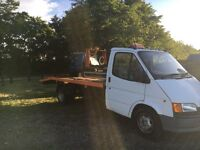 Ford Transit Recovery Truck, G reg 1993.