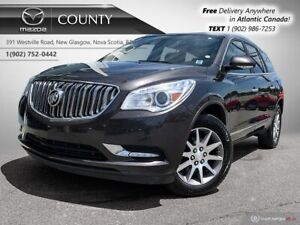2015 Buick Enclave $80/WK+TAX! 7 SEATER! LEATHER! PANO ROOF! V6!