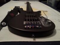 Fretless Warwick Rockbass Streamer 5 string bass guitar £220