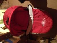 Bassinet with attachments baby jogger select