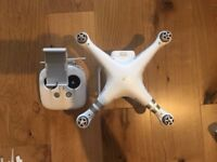 DJI Phantom 3 Advanced w/ 2 batteries, extra props, some CPL/ND filters and a hard case