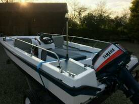 15ft Sports Dory Full set up