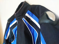Frank Thomas motorbike jacket and trousers (connectable as a suit)XXL