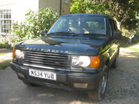 Range Rover 2.5 DT , Starts, Runs, Stops selling to recover unpaid rent ! MOT to October, TowBar.