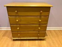 Julian Bowen solid pine chest of drawers £45