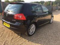 VOLKSWAGEN GOLF GT TDI 140 BHP-CRUISE CONTROL-2008- HPI CLEAR PART EXCHANGE WELCOME