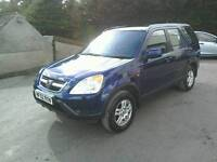 ,02 Honda Crv 2.0 Auto 5 door 12 MTS Mot April 2018 2 owners ( can be viewed inside anytime)