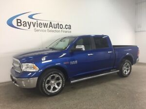 2016 Dodge RAM 1500 LARAMIE- ECODIESEL! LEATHER! NAVI! SUNROOF!