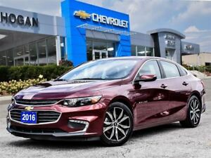 2016 Chevrolet Malibu LT True North Edition Sunroof, Navi, Leath