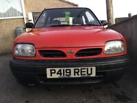 Nissan Micra spares or easy repair Moted