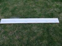 Wooden mounted pelmet curtain track 157cm * 4cm * 2cm