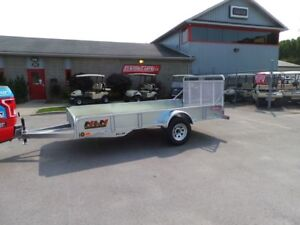 2018 N&N S72144G - 6 x 12 Utility Trailer - Upgraded Sides Hot D