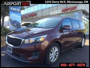 2015 Kia Sedona LX+/Push Button start/ Power sliding Doors