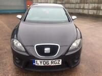 Seat Leon 2.0 tdi f r 2006 06 plate 6 speed manual sports seats alloy wheels privacy glasses