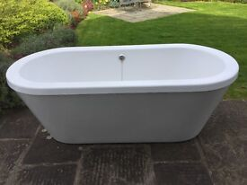 Free standing acrylic bath for sale