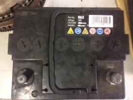 2x small car batteries