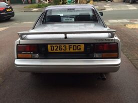 Rare silver Mk1 Mr2 1987 12 MONTHS MOT classic mid engined coupe
