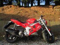 gilera dna 125cc motorbike CBT learner legal nice little bike