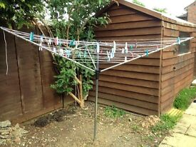 Clothes dryer outdoor