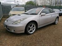TOYOTA CELICA - VERY LOW MILES - FULL 16 STAMP HISTORY