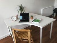 IKEA White corner desks