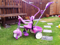 Little Tykes Pink Trike with all accessories