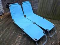 Garden Chairs - sun loungers