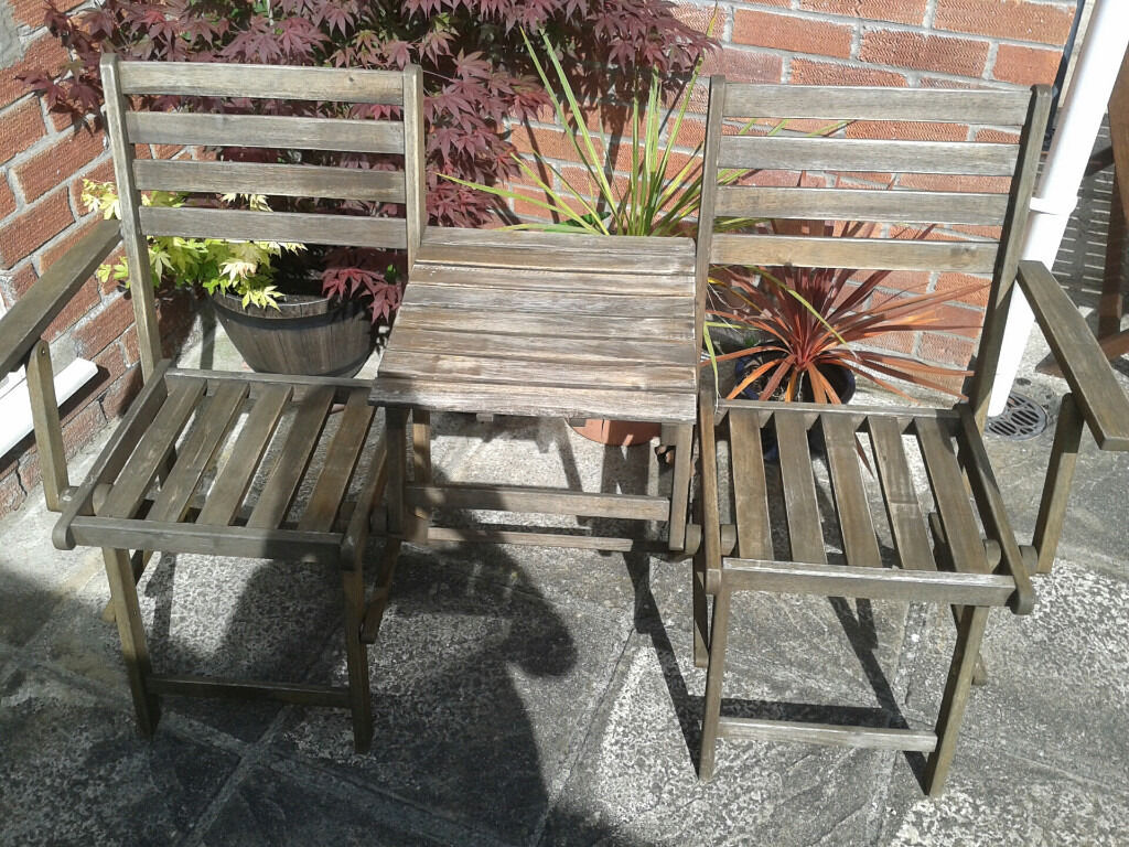 garden furniture yate folding garden seat and table in yate bristol gumtree - Garden Furniture Yate