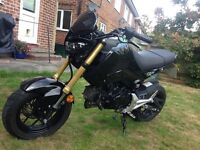 Honda MSX 125cc Grom Street Fighter Quick Sale Look!!!
