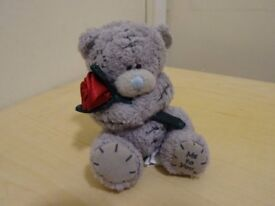 TATTY TEDDY - ME TO YOU - WITH ROSE - SMALL SIZE - COLLECTABLE OR GIFT ITEM