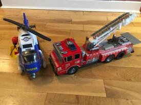 Jumbo Sized Fire & Rescue Duo Set