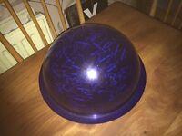 Spherical. Bowl of night