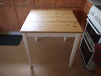 RELISTED LERHAM USED DINING TABLE. MAKE ME AN OFFER ?