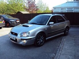SUBARU IMPREZA WRX TURBO 2.0T SPORTWAGON BHP224 4WD 2005 LEATHER SEATS EXTRAS F.S.H 2KEYS FOR 2995