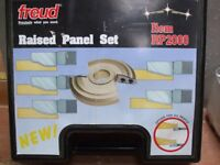 Freud insert knife raised panel cutter set for spindle moulder