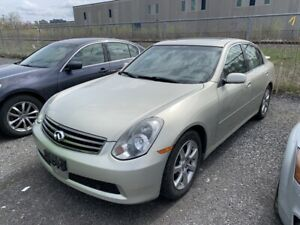 g35 owners manual 2005