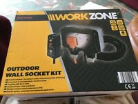 Outdoor Wall Socket Kit