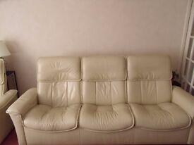 Ekornes three seat recliner sofa