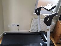 treadmill Reebok i-run 20100601, easy fold system,