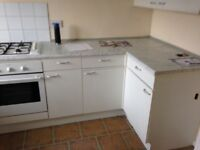 Used kitchen with appliances